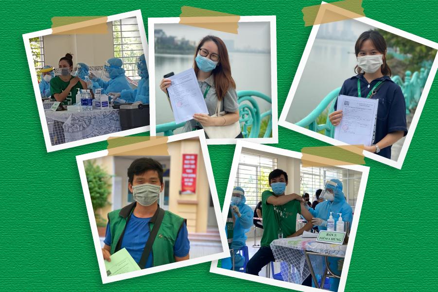 GHTK nỗ lực mục tiêu tiêm vaccine cho toàn bộ nhân viên vận hành tiền tuyến trên toàn quốc